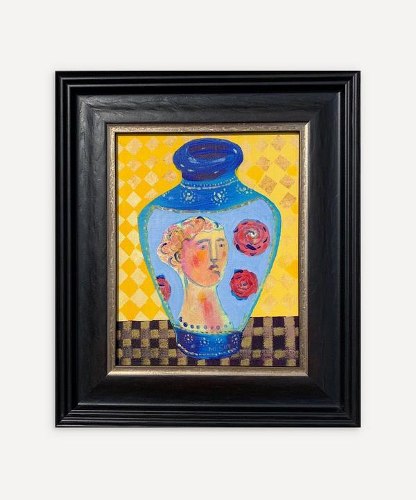 Naomi Munuo - Satsuma Vase 14 2020 Original Framed Artwork