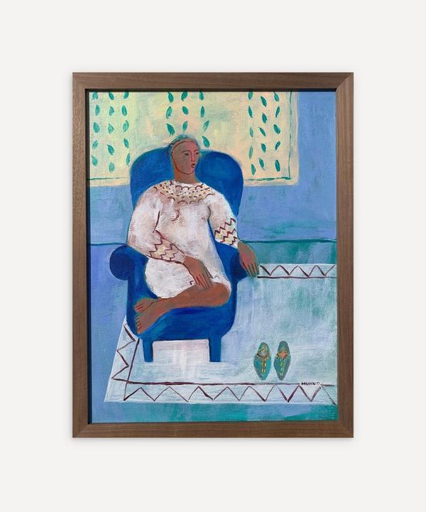 Naomi Munuo - Spa Marrakech 2021 Original Framed Artwork