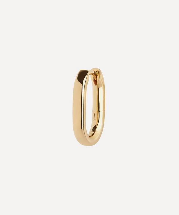 Maria Black - Gold-Plated Slick Single Huggie Hoop Earring