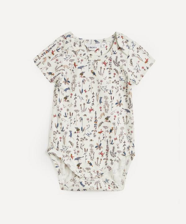 Liberty - Theo Jersey Envelope Neck Body 3-24 Months