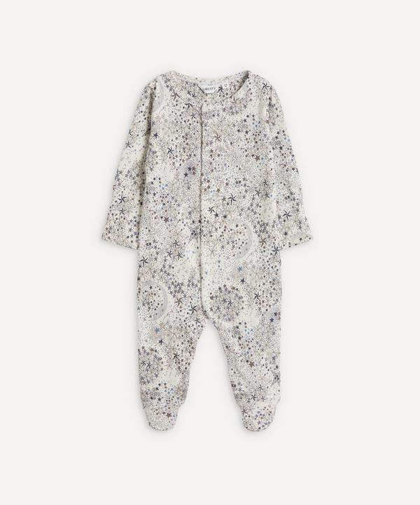 Liberty - Adelajda Jersey Babygrow 3-24 Months