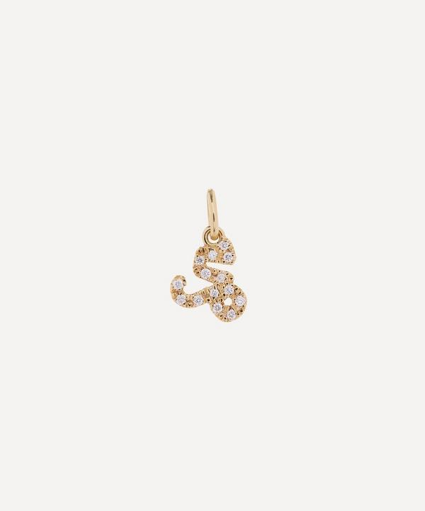 Liberty - 18ct Gold Capricorn Diamond Celestial Pendant