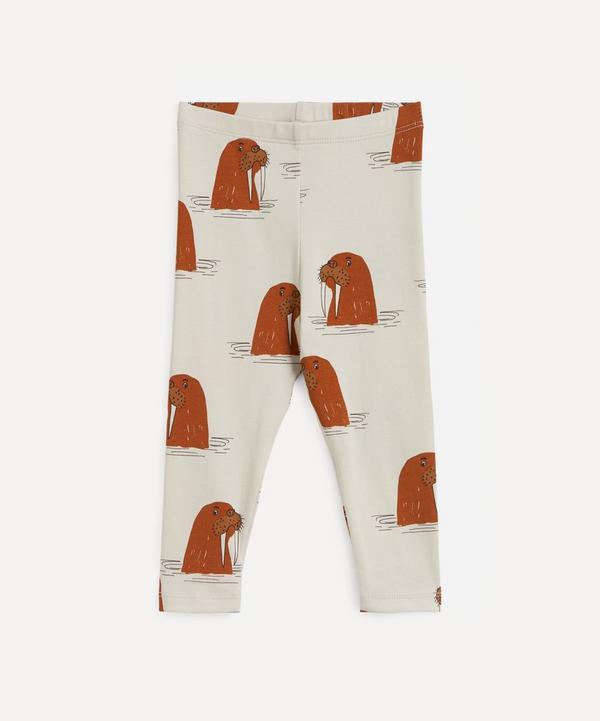 Mini Rodini - Walrus Print Leggings 3-18 Months