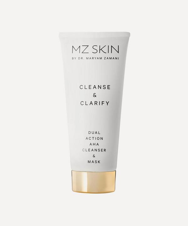 MZ Skin - CLEANSE & CLARIFY Dual Action AHA Cleanser & Mask 100ml