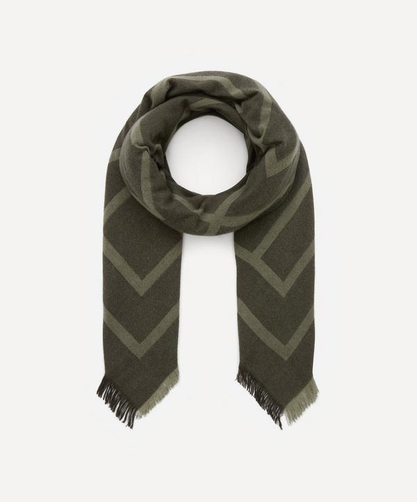 Totême - Monogram Wool Cashmere Scarf
