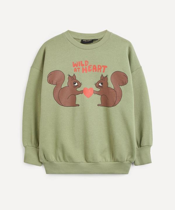 Mini Rodini - Wild At Heart Sweatshirt 2-8 Years
