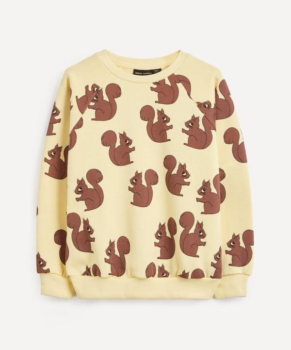 Mini Rodini - Squirrel All-Over Print Sweatshirt 2-8 Years