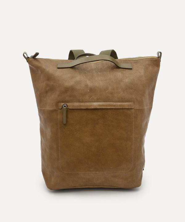 Ally Capellino - x Esquire Hoy Leather Backpack