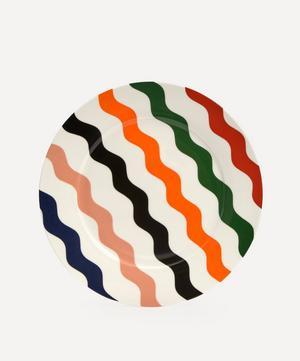 Scallop Dinner Plate Multicoloured