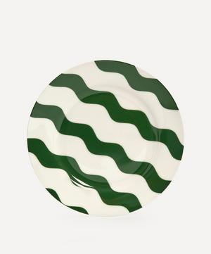 Scallop Side Plate Green