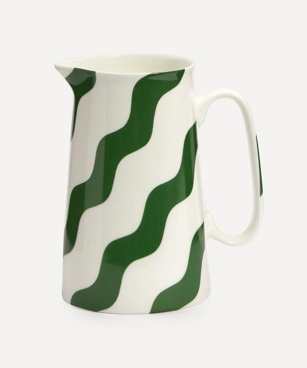 CasaCarta - Scallop Pitcher Green