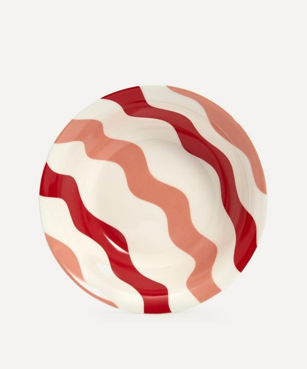CasaCarta - Scallop Bowl Pink & Red