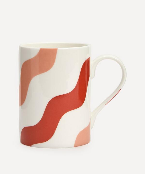 CasaCarta - Scallop Mug Pink & Red Set of Two