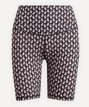 Bettina Printed Stretch Cycling Shorts
