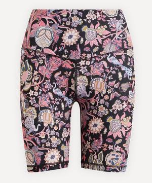 Tree of Life Printed Stretch Cycling Shorts