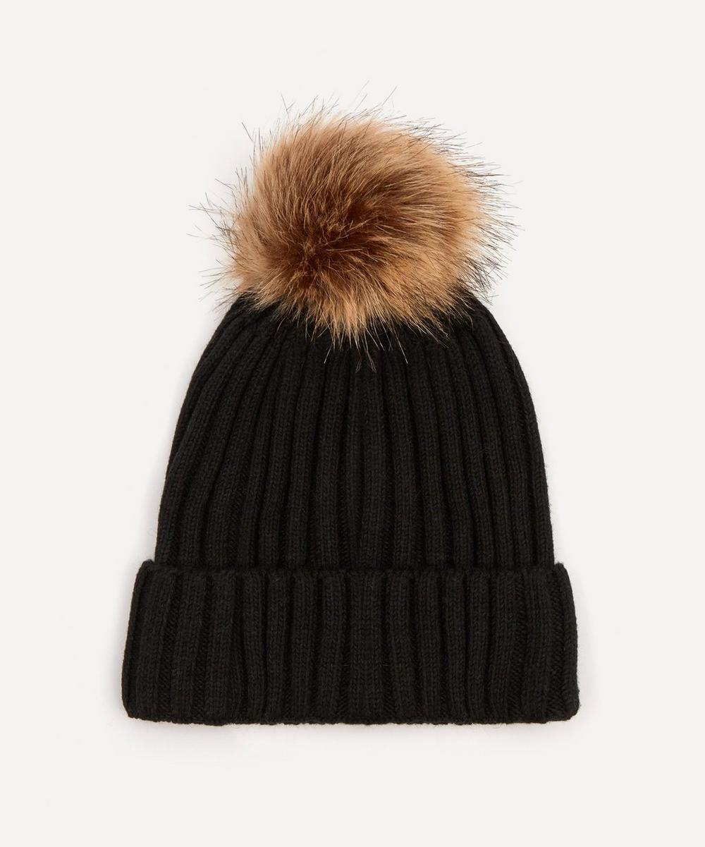 Christys' - Wool-Blend Pom Pom Beanie Hat