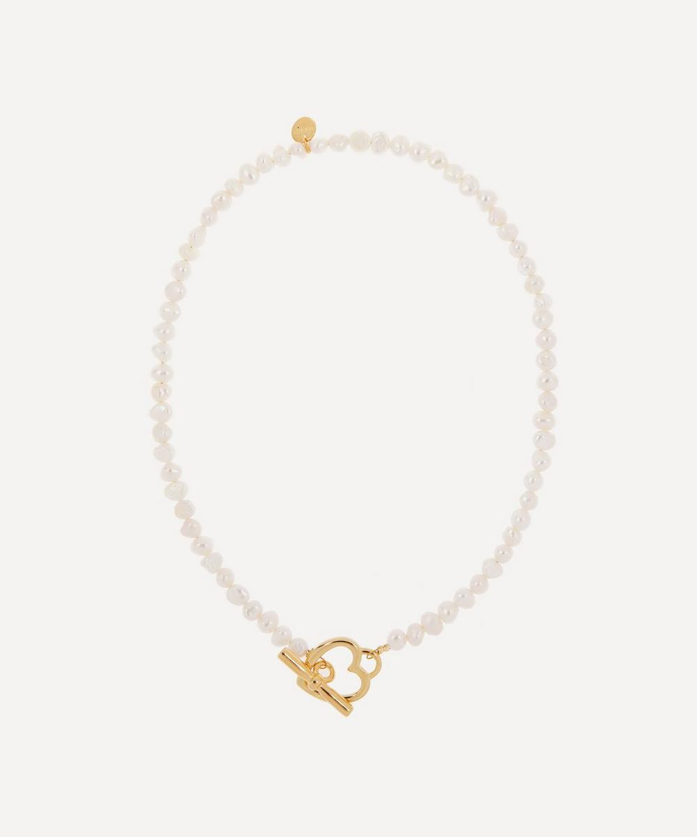 Mayol - Gold-Plated Suddenly Pearl Necklace