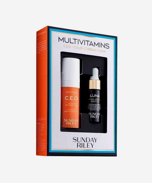 Sunday Riley - Multivitamins C.E.O. Vitamin C Serum and Luna Kit
