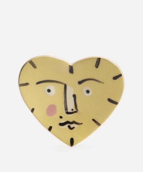 K.S. Creative Pottery - Large Heart Trinket Dish