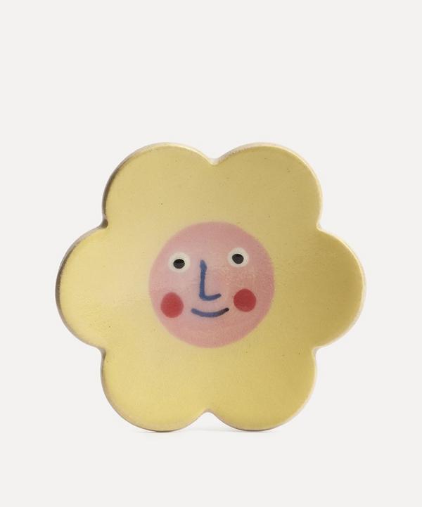 K.S. Creative Pottery - Large Daisy Trinket Dish