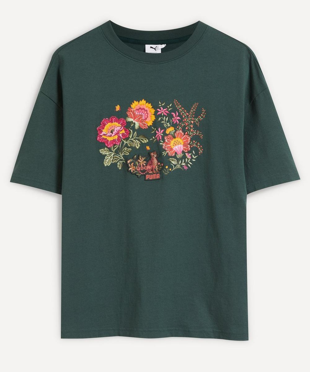 PUMA - x Liberty Embroidered Graphic T-Shirt