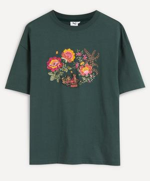 x Liberty Embroidered Graphic T-Shirt