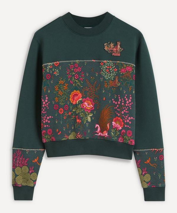 PUMA - x Liberty Printed Panel Sweatshirt
