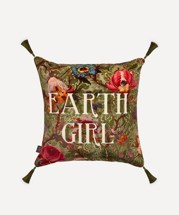 House of Hackney - Earth Girl Large Velvet Cushion