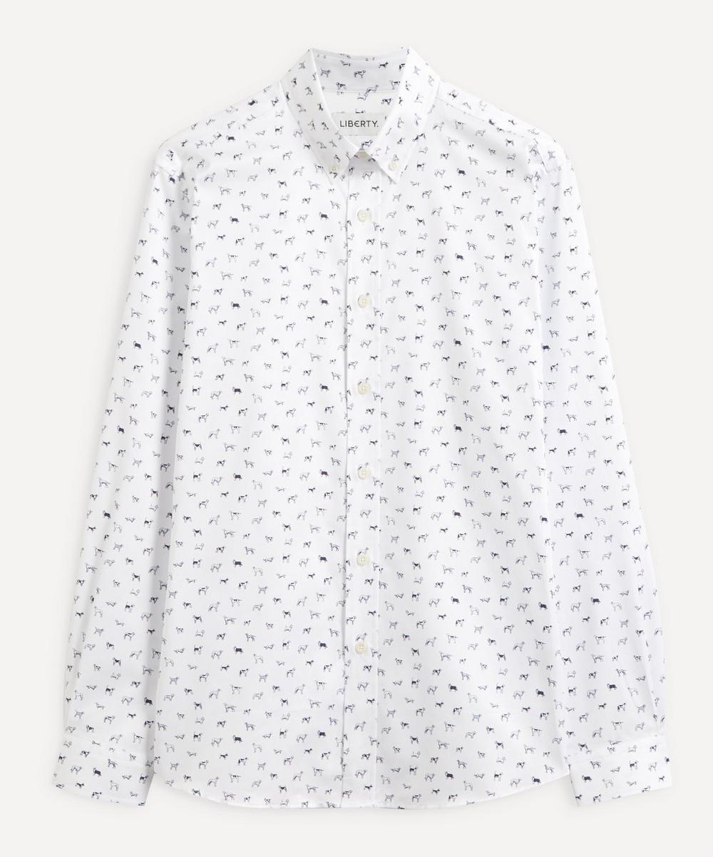 Liberty - Man's Best Friend Cotton Twill Casual Button-Down Shirt