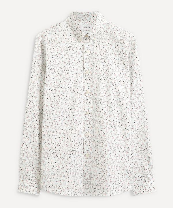Liberty - Gymnasium Cotton Twill Casual Button-Down Shirt