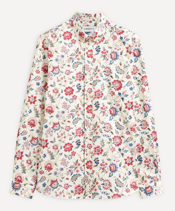 Liberty - Eva Belle Cotton Twill Casual Button-Down Shirt