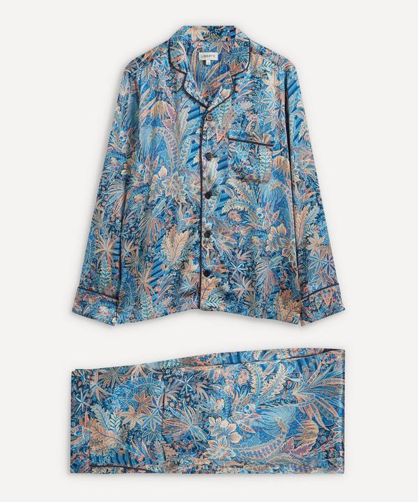 Liberty - Adelphi Voyage Silk Satin Pyjama Set