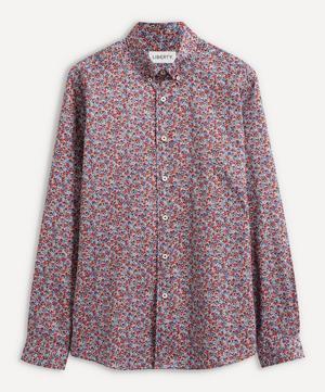 Ragged Robin Cotton Twill Casual Button-Down Shirt