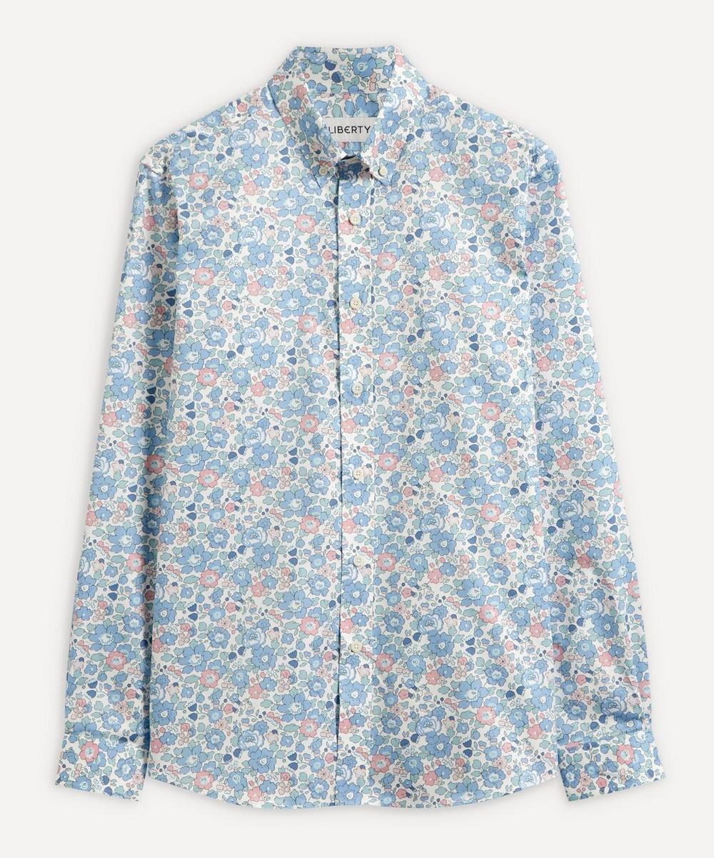Liberty - Betsy Cotton Twill Casual Button-Down Shirt