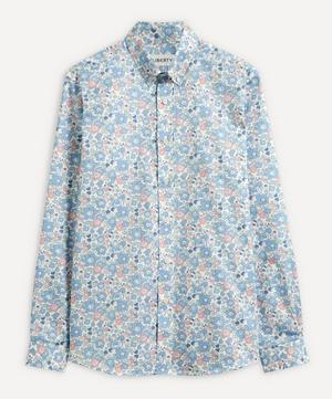 Betsy Cotton Twill Casual Button-Down Shirt