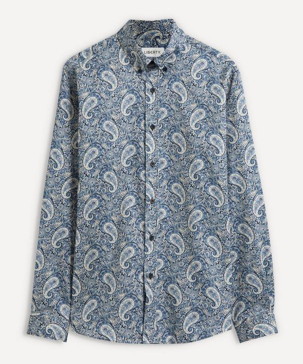 Liberty - Lee Manor Cotton Twill Casual Button-Down Shirt