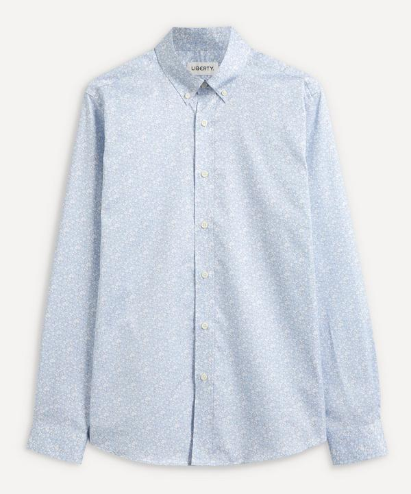 Liberty - Flower Market Cotton Twill Casual Button-Down Shirt