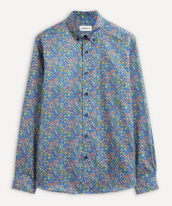 Liberty - Catesby Cotton Twill Casual Button-Down Shirt