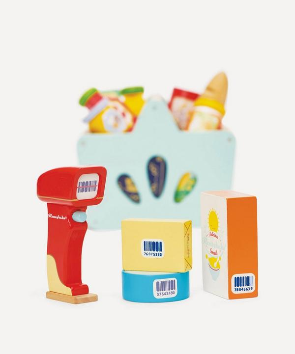 Le Toy Van - Groceries Set and Scanner Toy