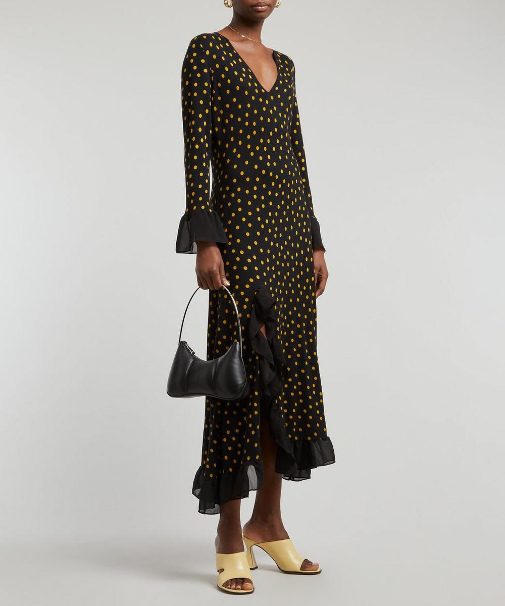 RIXO - Skylar Polka Dot Dress image number 1