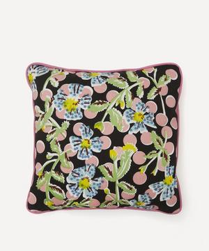 Midnight Climber Handprinted Cushion