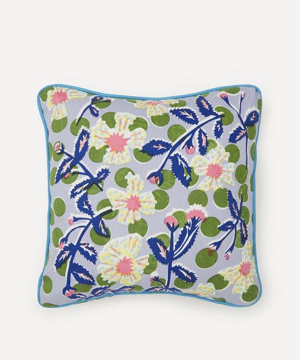 Beth Postle - Spring Climber Handprinted Cushion