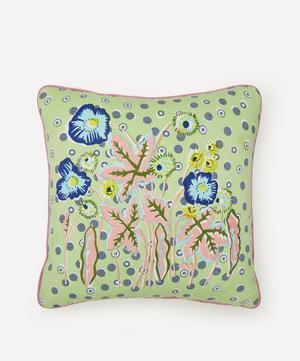 Spring Garden Handprinted Cushion
