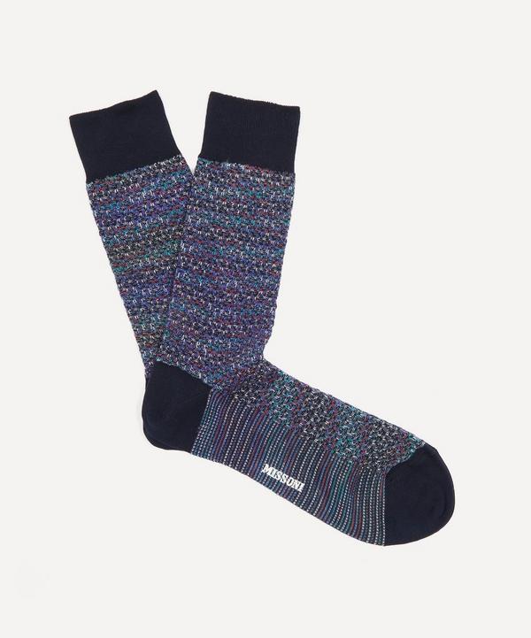 Missoni - Knitted Wool-Blend Socks