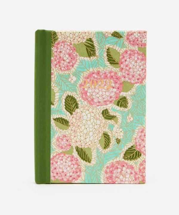 Esmie - Pink Hydrangea Weekly Pocket Diary 2022