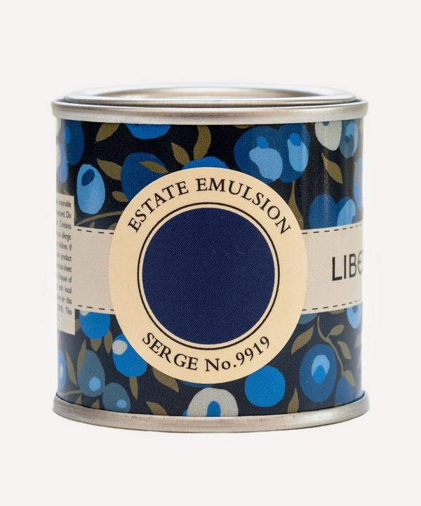 Farrow & Ball - Curated by Liberty Serge No.9919 Estate Emulsion Sample Paint Pot 100ml