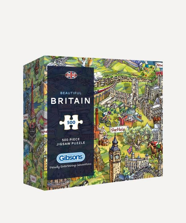 Gibsons - Beautiful Britain 500-Piece Jigsaw Puzzle