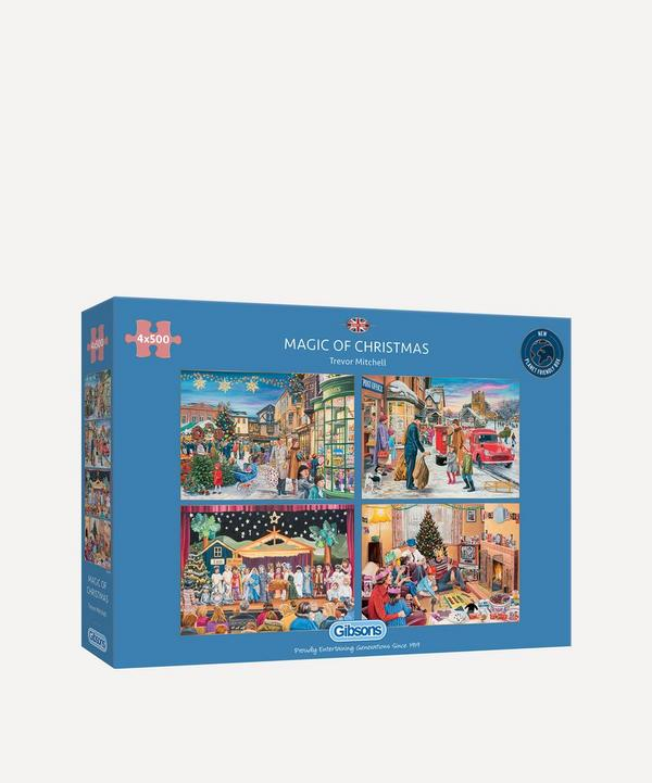 Gibsons - Magic of Christmas 4x500-Piece Jigsaw Puzzle
