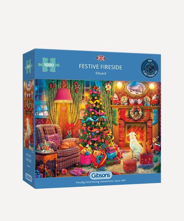 Gibsons - Festive Fireside 1000-Piece Jigsaw Puzzle