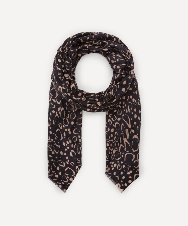 Lily and Lionel - Ocelot Cashmere Scarf